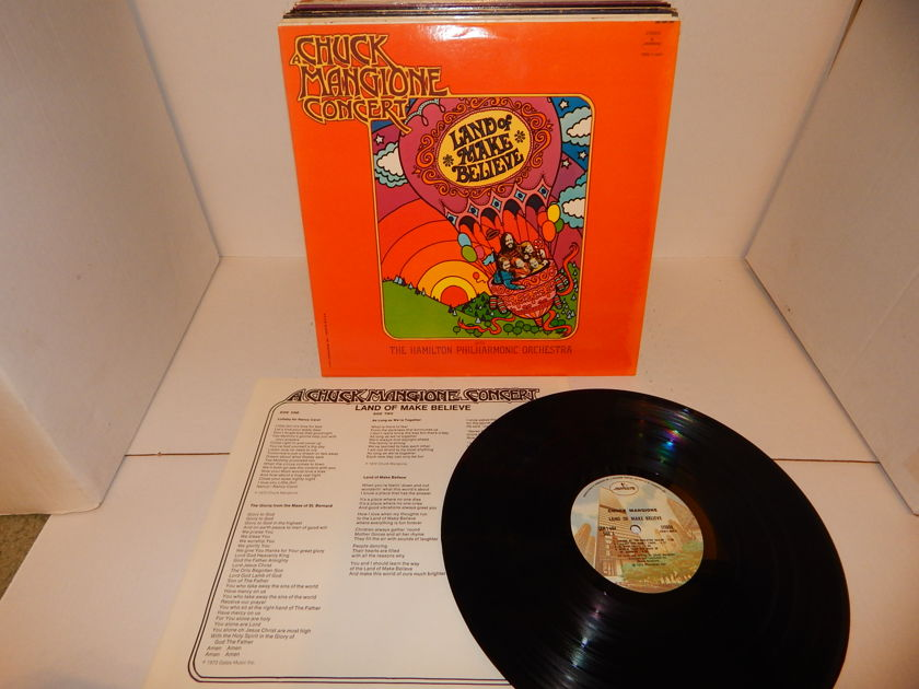 CHUCK MANGIONE CONCERT - Land Of Make Believe - Hamilton Philharmonic Orchestra 1973 Mercury LP NM