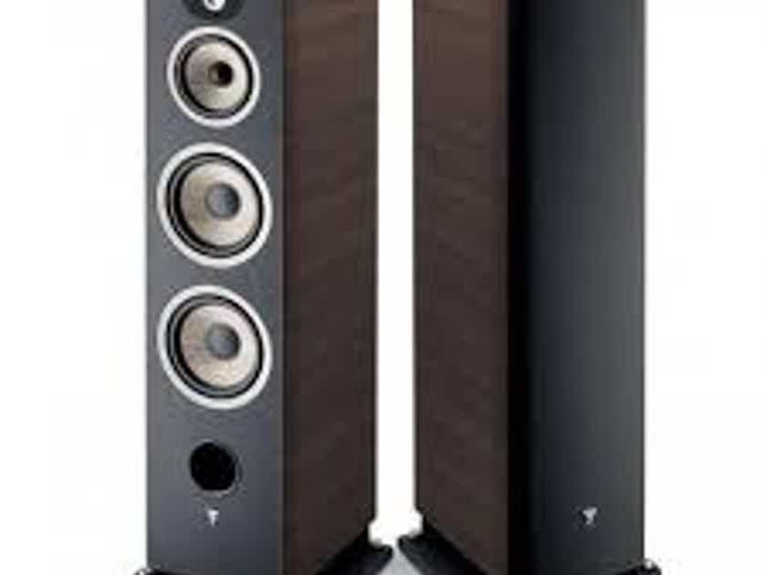 FOCAL Aria 948 Tower Speakers (Dark Walnut): EXCELLENT Trade-In; 1 yr Warranty; 40% Off