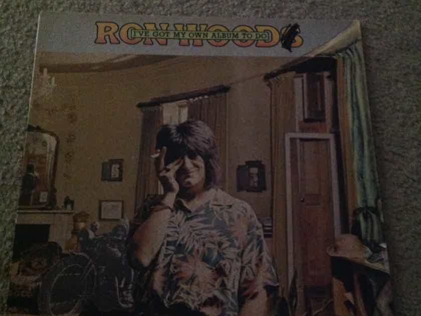 Ron Wood - I've Got My Own Album To Do Warner Brothers Records LP Guests Mick Jagger Keith Richards
