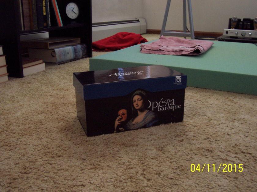 Baroque Opera - box set, Jacobs, Christie