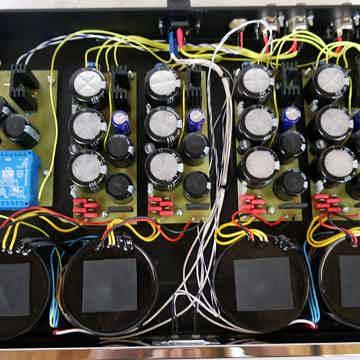 Valvet soulshine Trio tube line/phono-stage - 4 channel PSU