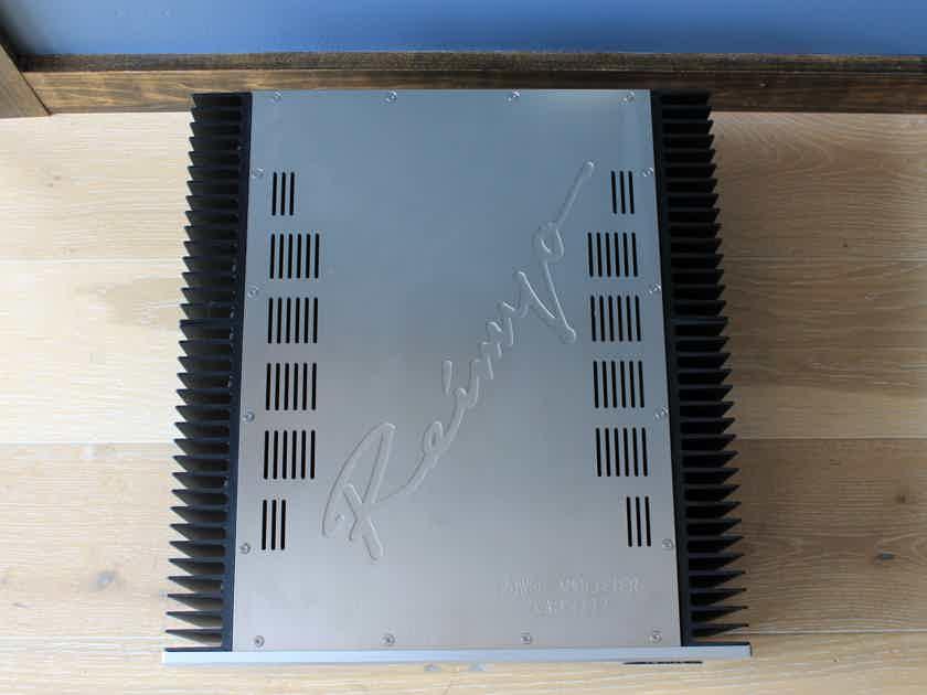 Reimyo KAP-777 Stereo Power Amplifier in Silver Finish