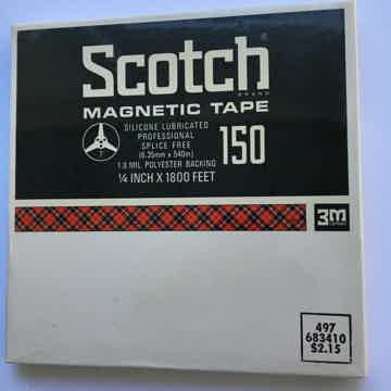 Scotch 150 magnetic reel to reel tape New sealed