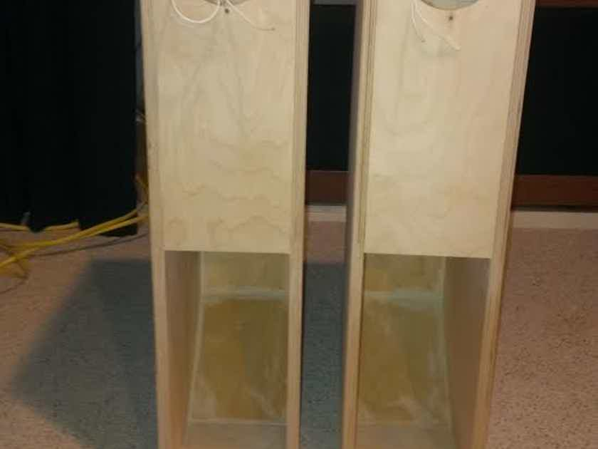 Pair of Fostex BK-12M Speaker Cabinets