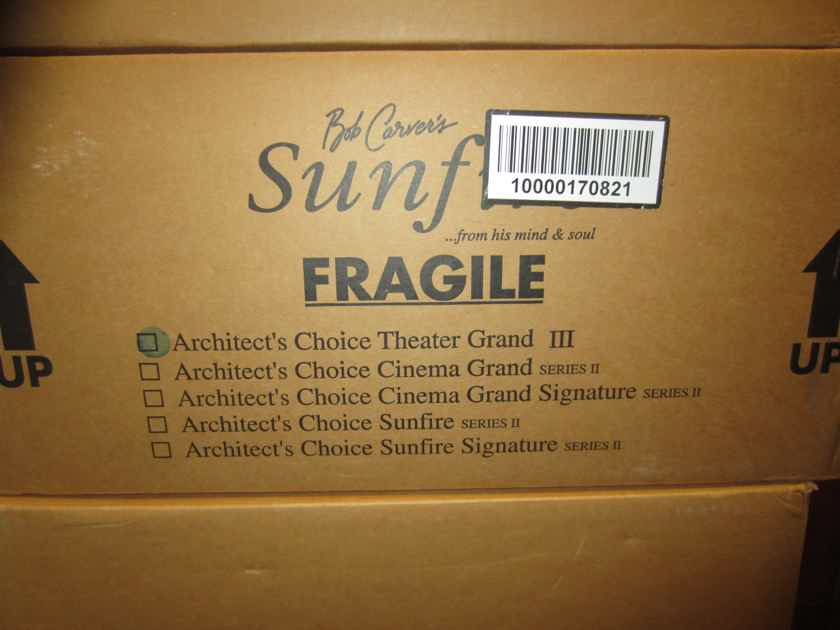 Sunfire Theater Grand-III Architect's Choice
