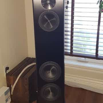 Magico A3 Floorstanding Speakers (Black): EXCELLENT Tra...