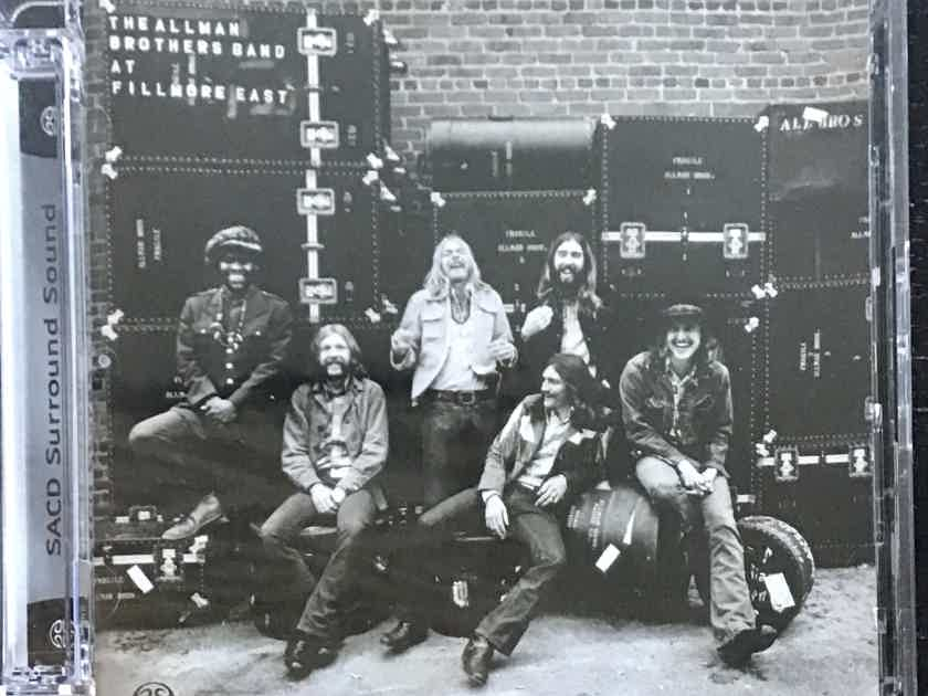 The Allman Brothers Band - Live At Fillmore East - Hybrid SACD (2discs)