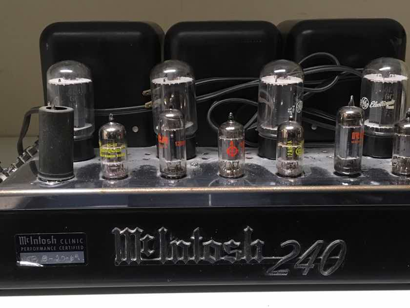 McIntosh MC 240 40w/ch, tube