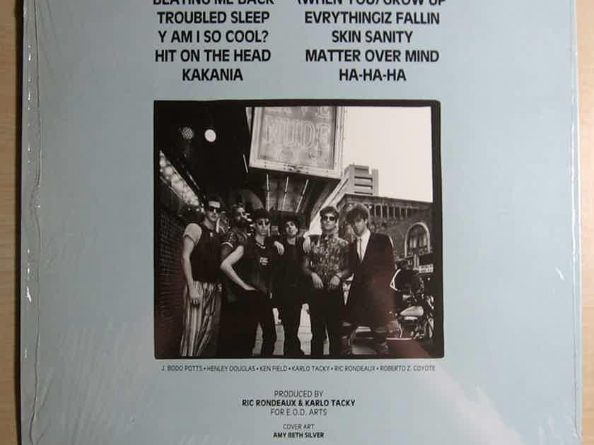 Skin - Sanity 1987 NM- Vinyl LP In Shrink E.O.D. Records EOD 12-002