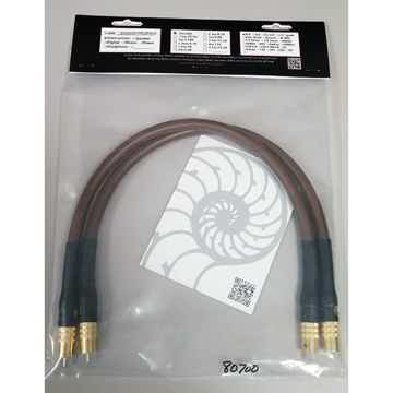 CARDAS Golden Presence Interconnect Cables: Brand New-I...