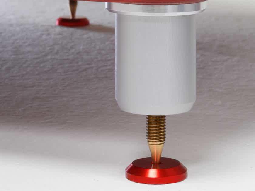 Gregitek Floor Discs - Spike Plates in Red or Silver