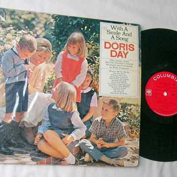 DORIS DAY - WITH A SMILE AND A SONG - RARE ORIG