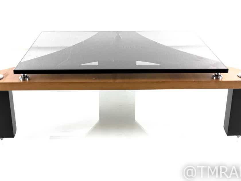 Naim Fraim Component Isolation Stand; Glass Shelf; Cherry & Black (23436)