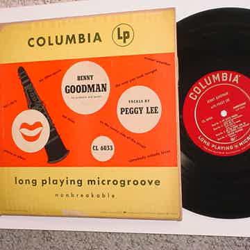 Benny Goodman vocals Peggy Lee