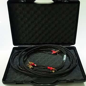 No. 2 bi-wire speaker cable, 2m with box