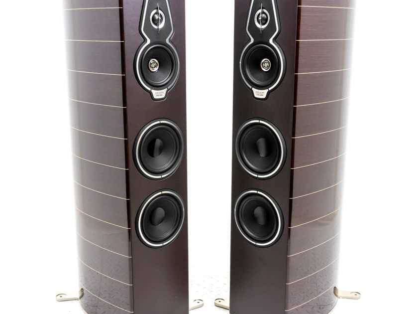 Sonus Faber Serafino Tradition Floorstanding Speakers; Wenge Pair (19554)