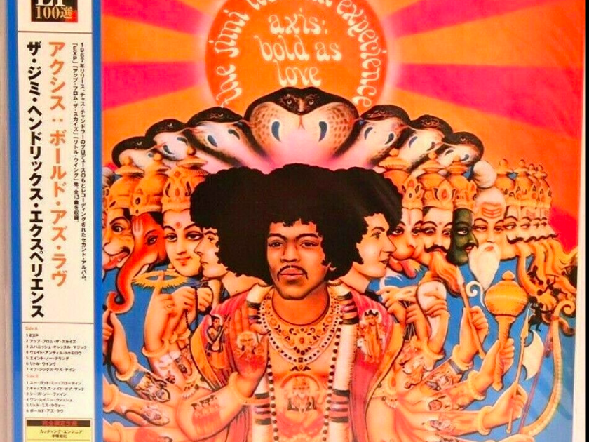The Jimi Hendrix Experience Axis - Bold as Love - Japan UIJY-9007 New/Sealed
