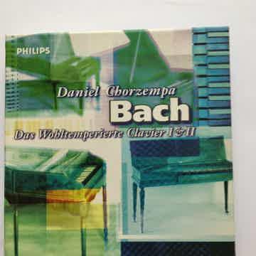 Daniel Chorzempa Bach  Das Wohltemperierte Clavier I & II Philips Cd set 1997