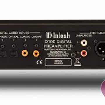 McIntosh D100 DAC - Digital Preamplifier - Trade-In - A...
