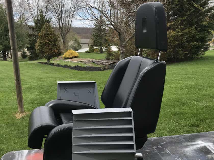 Authentic Ferrari Lounge Chair pair