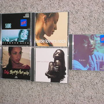 CD lot of 5 cd's love deluxe Promise Lovers Rock