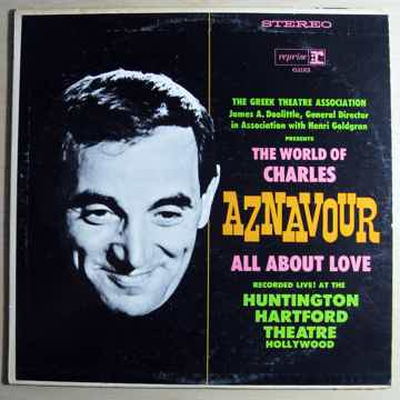 Charles Aznavour The World Of Charles Aznavour All About Love