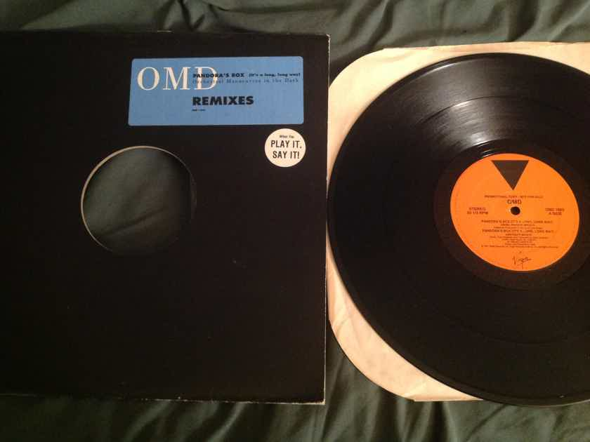 OMD  Pandora's Box(It's A Long,Long Way)Remixes Virgin Records Promo