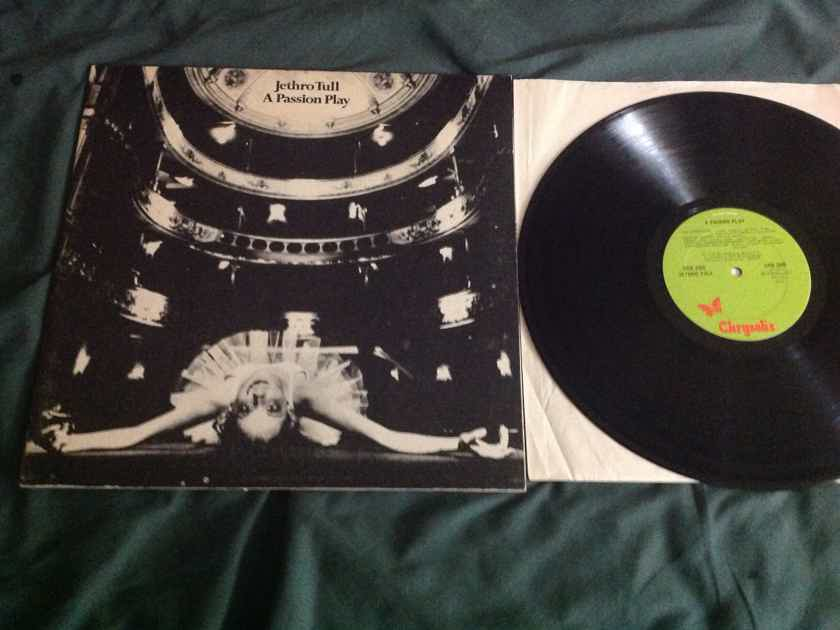 Jethro Tull - A Passion Play 1973 Original All Analog Vinyl Green Chrysalis Records LP