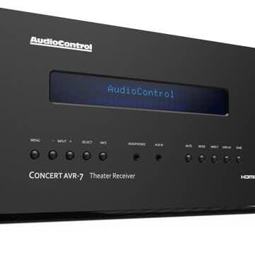 AudioControl Concert AVR-7  **Practically Brand New (ap...
