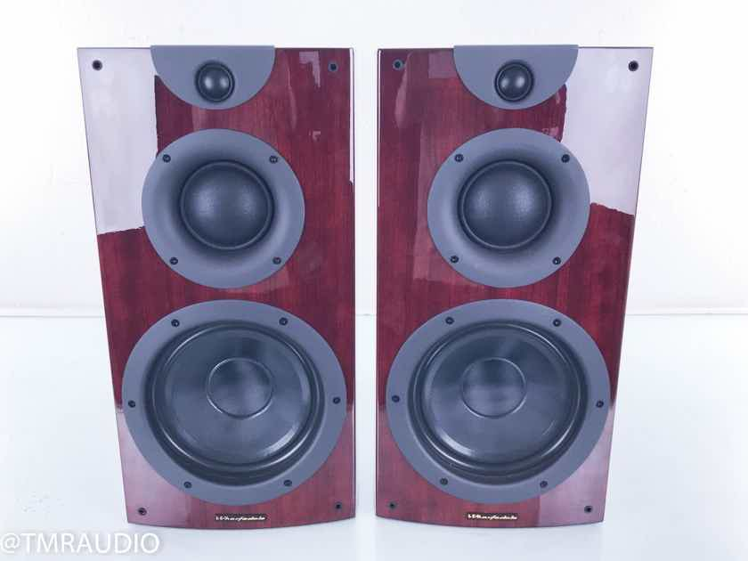 Wharfedale Opus2 M2 Bookshelf Speakers Piano Rosewood Pair; Opus 2 (15173)