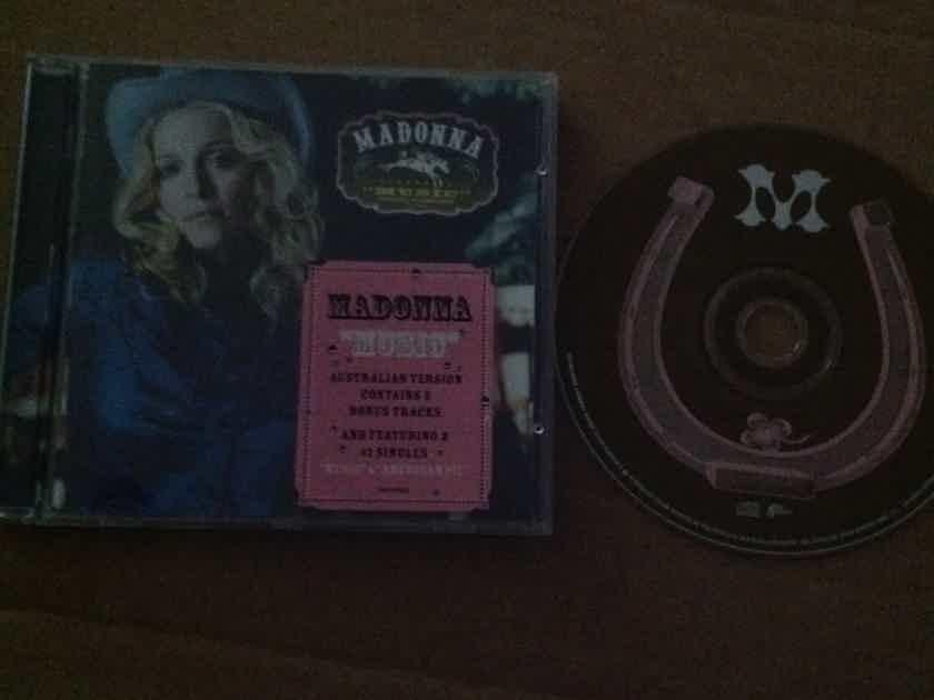 Madonna - Music Maverick Records Compact Disc Australia Pressing