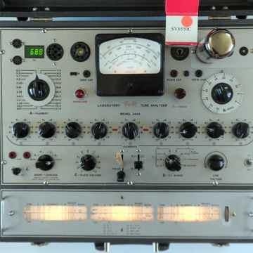 Triplett 3444 tube TESTER analyzer with plate current m...