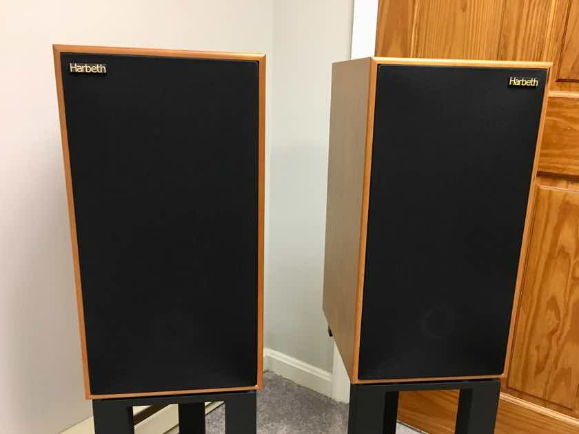 Harbeth Compact 7ES-3 7ES3 Speakers 35th Anniversary - Cherry - Original Owner