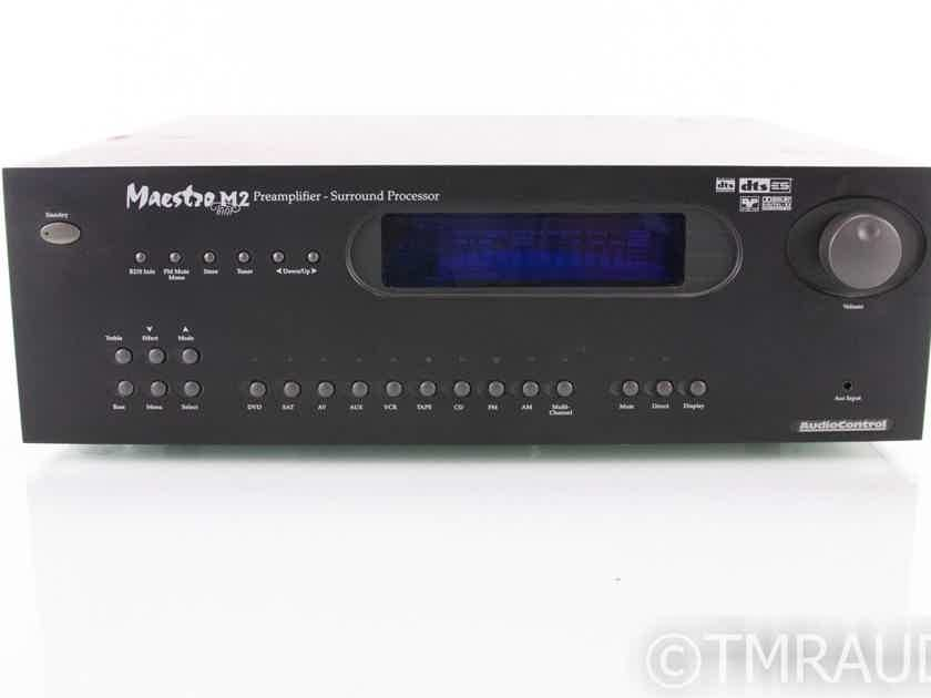 AudioControl Maestro M2 7.1 Channel Home Theater Processor; M-2 (No Remote) (19063)