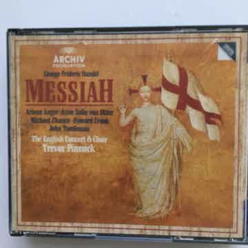 Handel Trevor Pinnock Messiah Cd set Archiv 1988