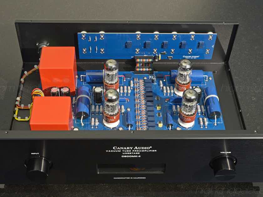 $8995 Stunning Tube Preamp with 4 x 6SN7 and FULL size power supply Promotion at HIGH-END PALACE