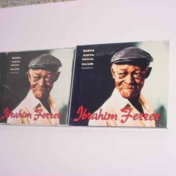Ibrahim Ferrer cd buena vista social club presents