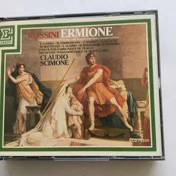 Rossini Claudio Simone No Booklet  Ermione Cd set Erato ECD 75336 1988