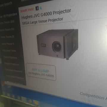 HUGHES-JVC LARGE VENUE PROJECTOR G 4000