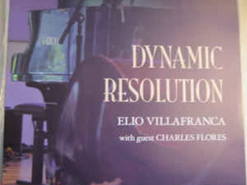 Elio Villafranca & Charles Flores  Dynamic Resolution-Mono LP and stereo LP