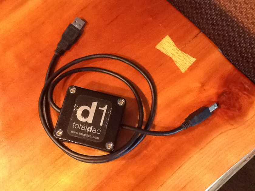 Totaldac USB cable/filter