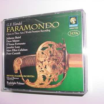 VOX Classics 3 cd set GF Handel Faramondo opera in three acts Rudolph Palmer