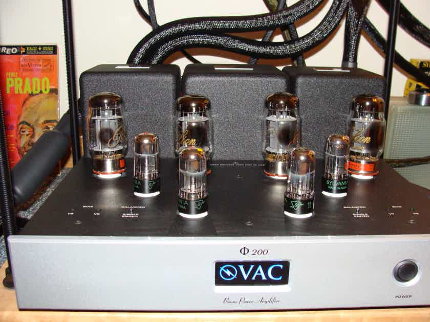 VAC Phi-200 Superb High-End Amp!