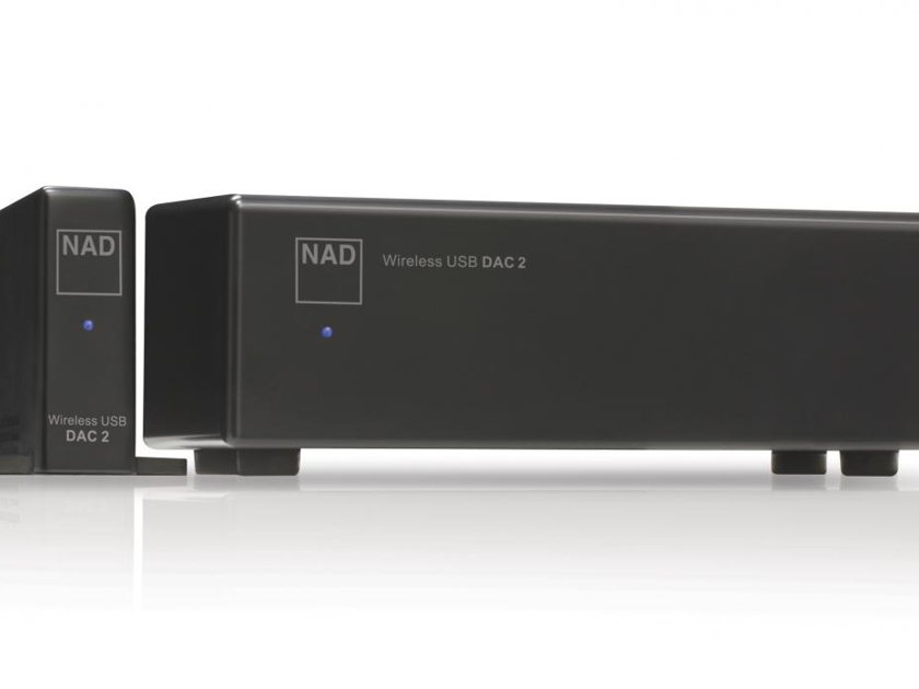 NAD DAC 2 Wireless USB Digital-to-Analogue Converter with Warranty & Free Shipping