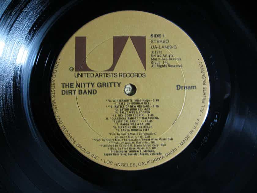 Nitty Gritty Dirt Band - Dream LP 1975 United Artists Records UA-LA469-G