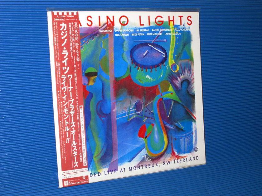 "VARIOUS - Sanborn, Jarreau, Crawford, Carlton etc.   - ""Casino Llights"" - Warner / Pioneer Japan 1982 Audiophile Pressing SEALED"