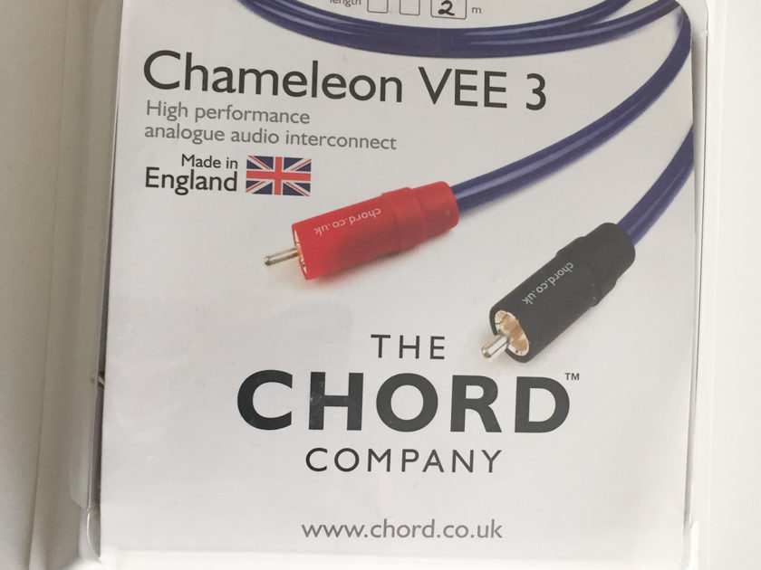 The Chord Company Chameleon Plus  2M - Excellent