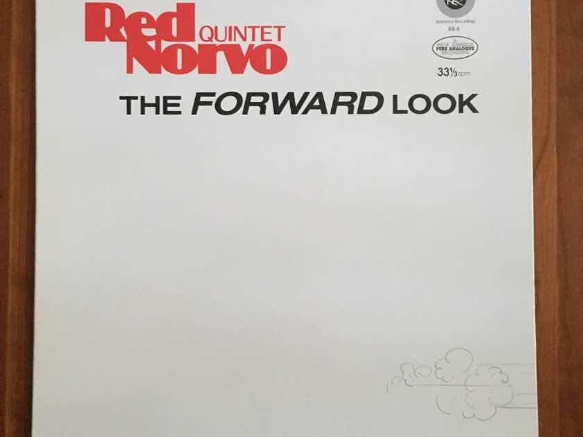 """AUDIOPHILE: RED NORVO """"The Forward Look"""" RR-8 (1981) Half-Speed... $25"""