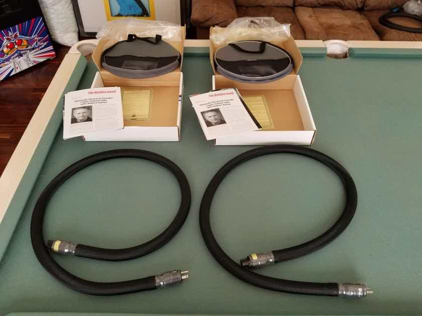 Shunyata Research Ztron Anaconda Power Cord, 1.75M