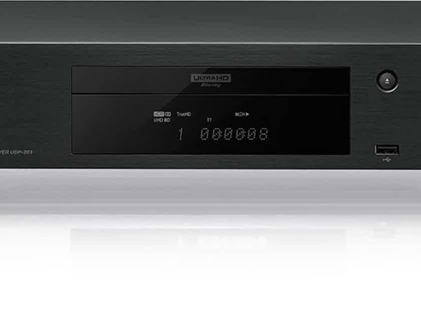 OPPO UDP-203 Region Free 4K Ultra-HD Blu-ray Player w/Discrete power supply upgrade